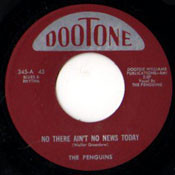 PENGUINS - NO THERE AIN'T NO NEWS TODAY