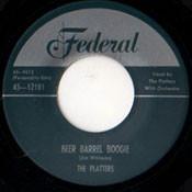 PLATTERS - BEER BARREL BOOGIE RnB45-1033
