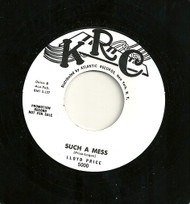 LLOYD PRICE - SUCH A MESS