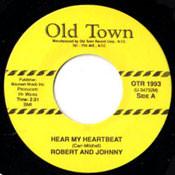 ROBERT AND JOHNNY - HEAR MY HEART-BEAT