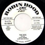 LOUIS PRIMA - THE DOG