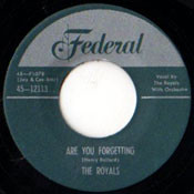 ROYALS - ARE YOU FORGETTING