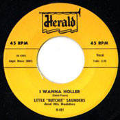 LITTLE BUTCHIE SAUNDERS - I WANNA HOLLER
