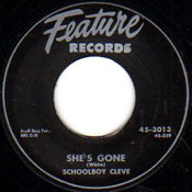 SCHOOLBOY CLEVE - SHE'S GONE