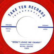 ROYAL JOKERS - DON'T LEAVE ME FANNY