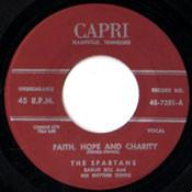 SPARTANS - FAITH, HOPE AND CHARITY