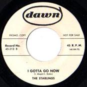 STARLINGS - I GOTTA GO NOW