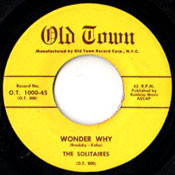 SOLITAIRES - WONDER WHY