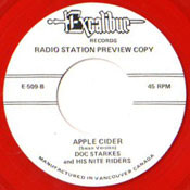 DOC STARKES AND NITE RIDERS - APPLE CIDER