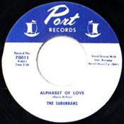 SUBURBANS - ALPHABET OF LOVE