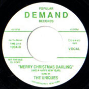UNIQUES - MERRY CHRISTMAS DARLING