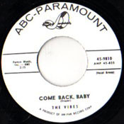 VIBES - COME BACK BABY