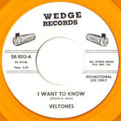 VELTONES - I WANT TO KNOW