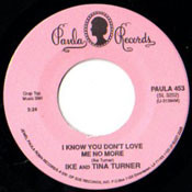IKE AND TINA TURNER - I KNOW YOU DONT LOVE ME NO MORE