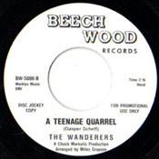 WANDERERS - A TEENAGE QUARREL