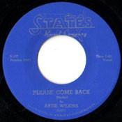ARTIE WILKINS AND PALMS - PLEASE COME BACK