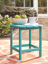 Sundown Treasure Turquoise Rectangular End Table