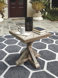 Beachcroft Beige Square End Table