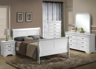 5939 Sleigh Wood Queen Bed