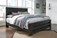 Brinxton Black King Poster Bed