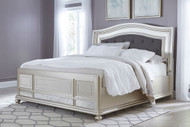 Coralayne King Upholstered Panel Bed
