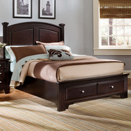 Hamilton/Franklin Panel Queen Bed with Storage Option
