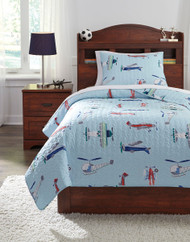 McAllen Multi Twin Quilt Set