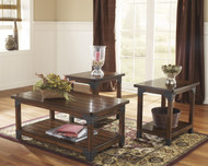 Murphy Occasional Tables (Set of 3): Medium Brown
