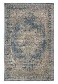 South Blue/Tan Medium Rug