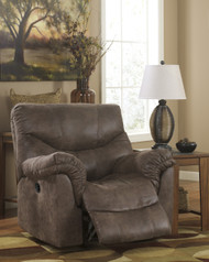 Alzena Rocker Recliner: Gunsmoke