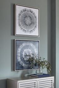 Monterey Blue/White Wall Art Set (2/CN)