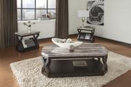 Radilyn Occational Table Set of 3: Grayish Brown