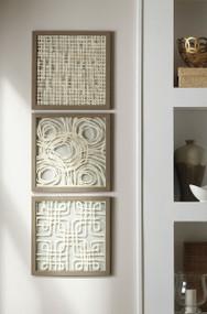 Odella Cream/Taupe Wall Decor Set