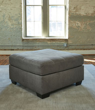 Pitkin Slate Oversized Accent Ottoman