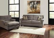 Tibbee Slate Sofa & Chaise