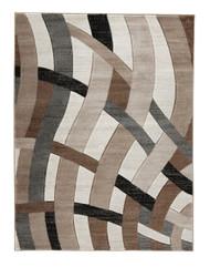 Jacinth Brown Medium Rug