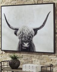 Pancho Black/White Wall Art