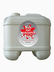 Sids Hot Worcester Sauce (10% Sugar) 5 lt