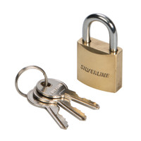 Silverline Brass Padlock