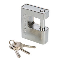 Silverline Close Armoured Shutter Lock Padlock
