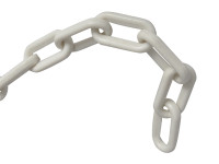 Faithfull White Plastic Chain