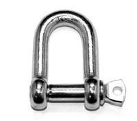 Commercial Pattern Dee Shackles - Galvanised