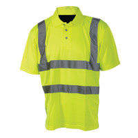Silverline Hi-Vis Polo Shirt Class 2