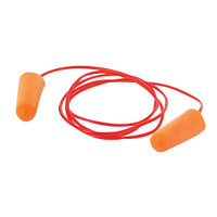 Silverline Corded Ear Plugs SNR 37dB - Pack of 200