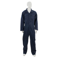 Silverline Navy Blue Boilersuit