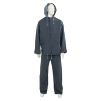 Silverline Blue Rain Suit - 2 piece