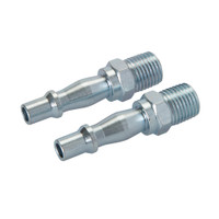 Silverline Male Air Line Bayonet Coupler - 2 piece