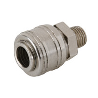 Silverline Euro Air Line Male Quick Coupler