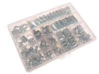 Jubilee Workshop Pack - 143 Assorted Hose Clips