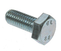 Hex Head HT Set Screws - Grade 8.8 - Bright Zinc Plated